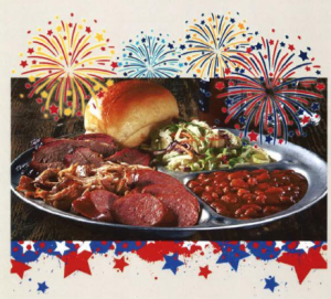 Sonny Bryans Smokehouse 4th of July Special