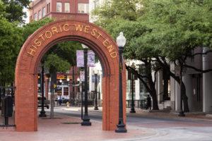 downtown dallas west end historic district
