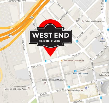 downtown dallas map pdf Printable Map Dallas West End Map Of Downtown Dallas downtown dallas map pdf