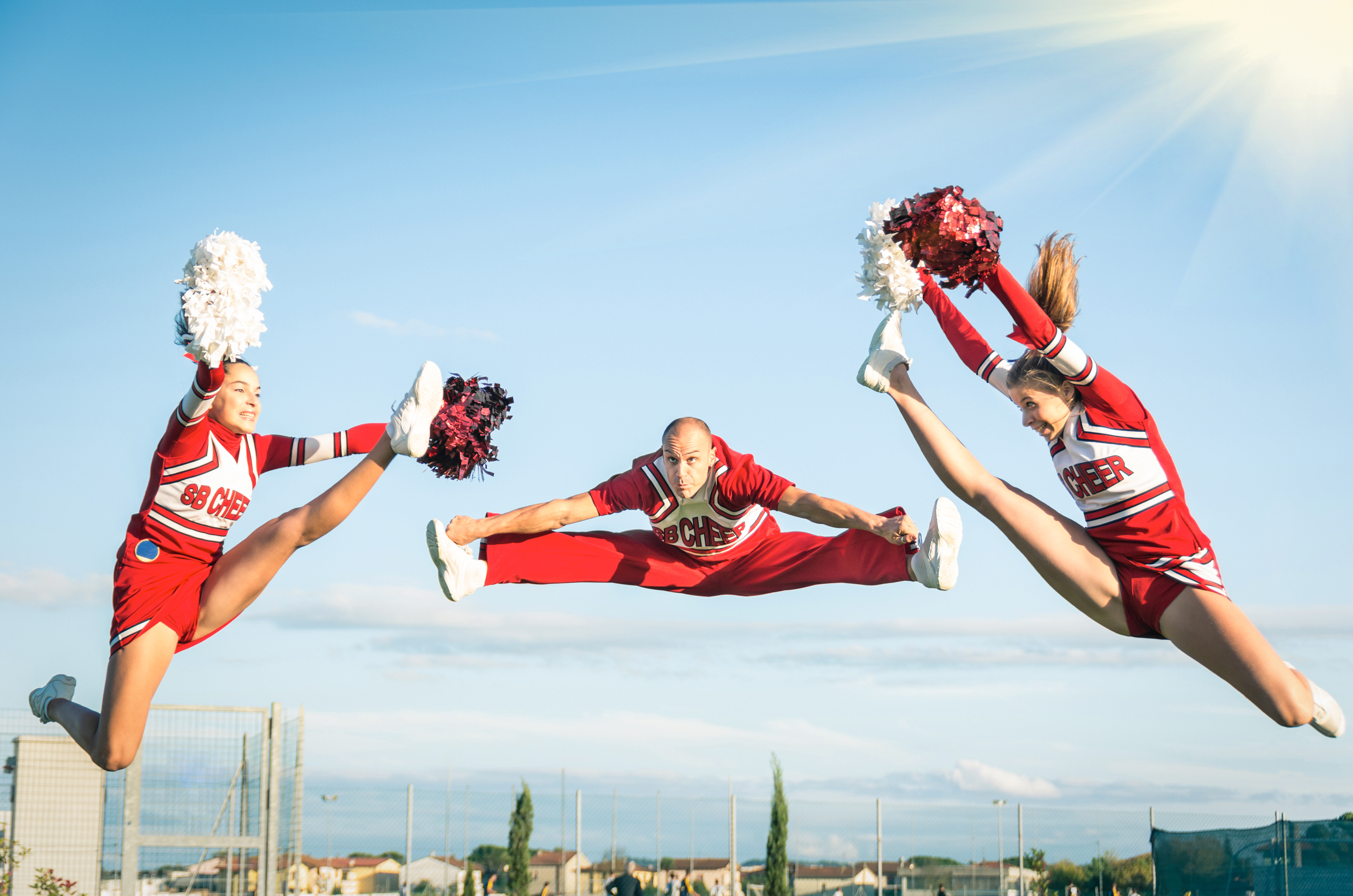 the rigorous life of a cheerleader